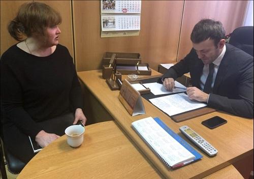 Депутат Госдумы Евгений Серпер провел прием граждан