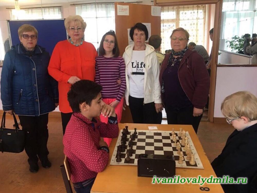Детский шахматный турнир