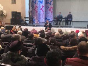 Денис Кравчук встретился с избирателями