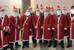 Масштабное шествие Дедов Морозов