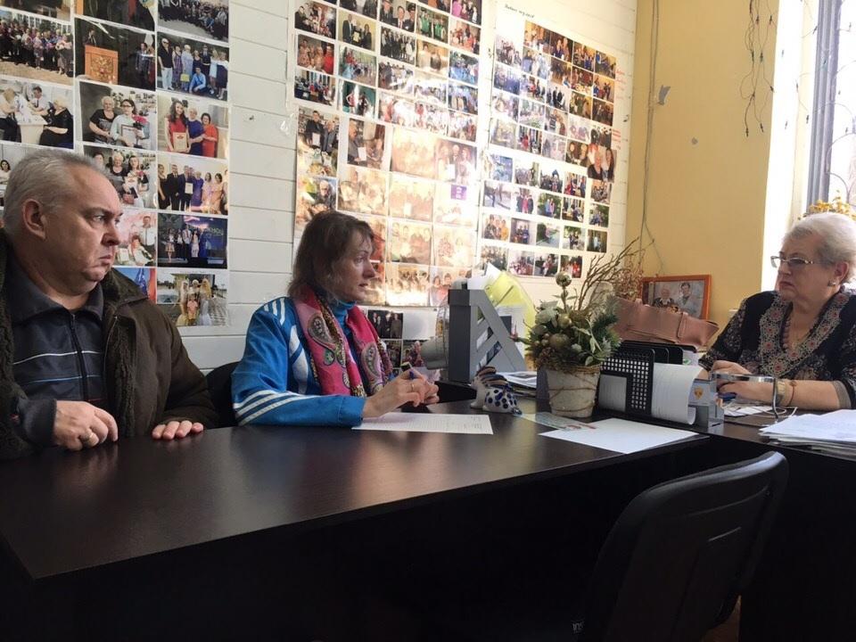 Встреча в общественной приёмной депутата Губдумы Дениса Кравчука
