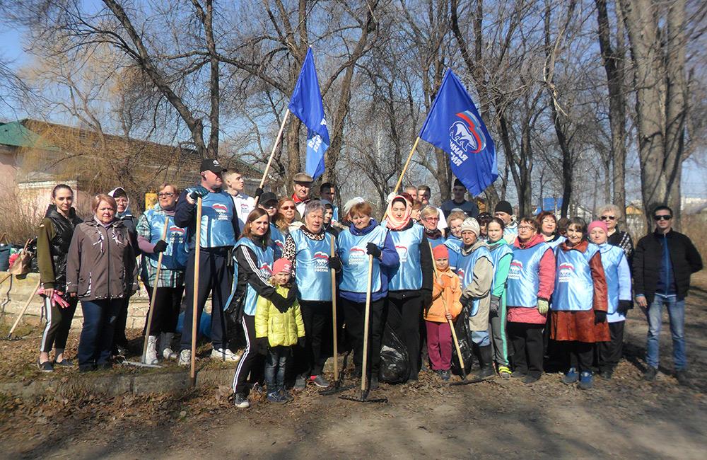 Сызрань, городок, зеленая весна 2019, всероссийская экологическая акция, депутат Кравчук