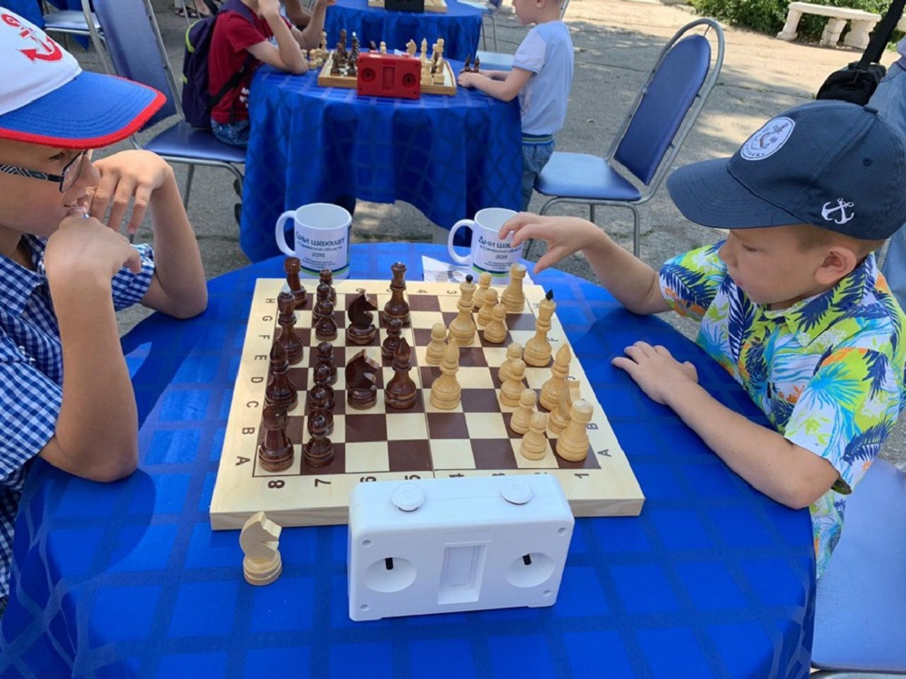 Шахматный турнир в Октябрьске
