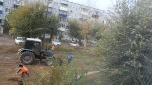 "Уборка территории ЖК ""Городок"""