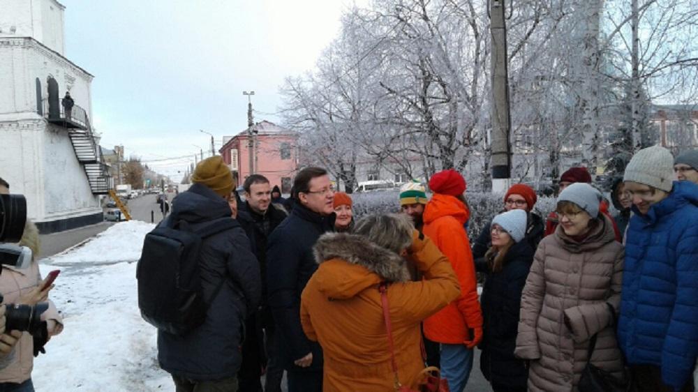 Рабочий визит в Сызрань