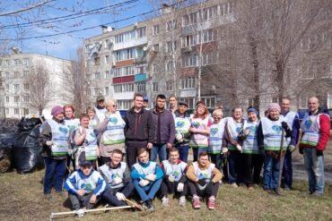 Экологический субботник в Тимирязевском парке Сызрани