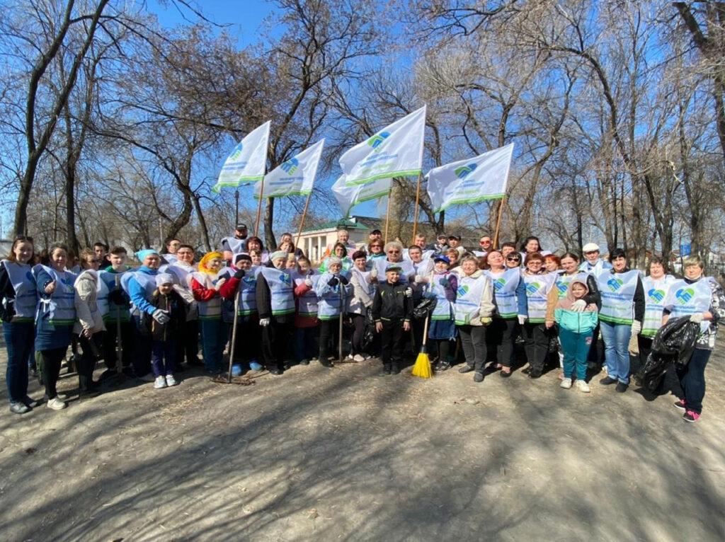 Субботник в Тимирязевском парке Сызрани